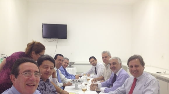 Presidente da Soc. Brasileira de Cardiologia, Dr. Jadelson Andrade, visita o INESS