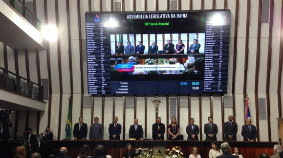 Comemoração dos 75 anos da ABM na Assembleia Legislativa
