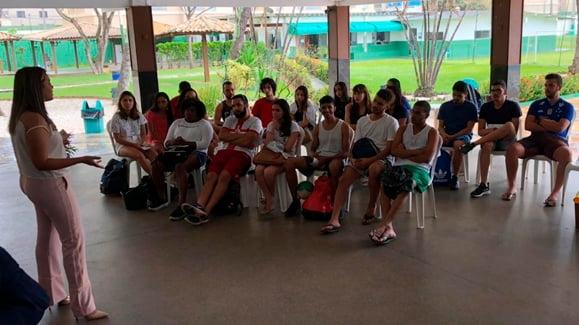 Gincana dos alunos de Medicina da UFBA na Sede Social da ABM