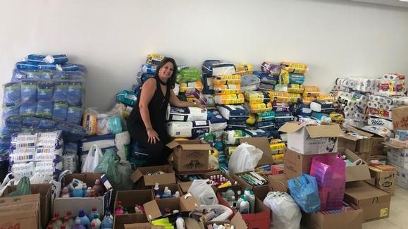 Funcionários da ABM entregam doações arrecadadas na gincana!