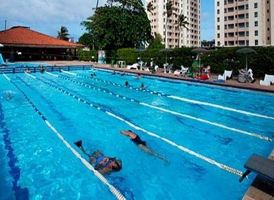 Destaque para a natação