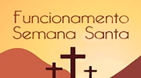 Funcionamento da Sede Social durante a Semana Santa