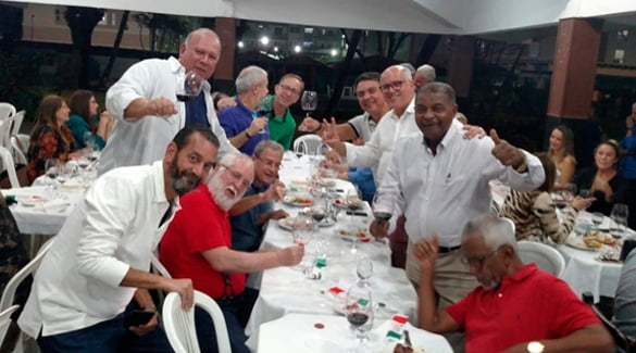 Sede Social da ABM sedia 1ª Degustação harmonizada de Vinhos