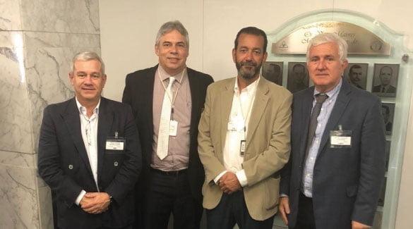 Presidente e diretor da ABM participam de assembleias na sede da AMMG