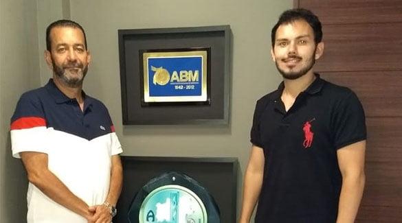 ABM recebe visita de estudante da Unime