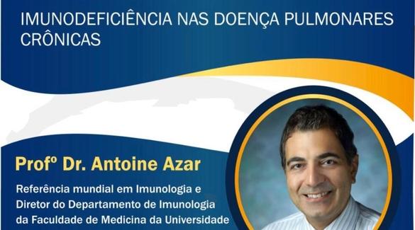 ABM vai realizar Conferência Magna de Imunodeficiência nas doenças pulmonares crônicas