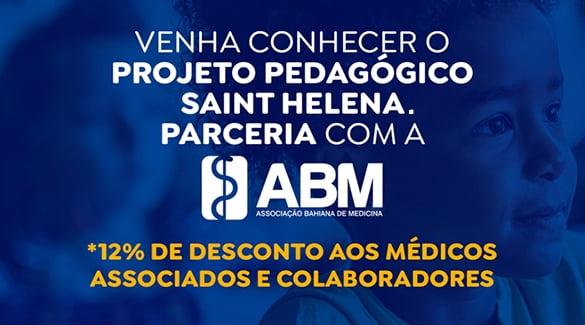 ABM Benefícios: Associados ABM têm condições especiais na Escola Saint Helena