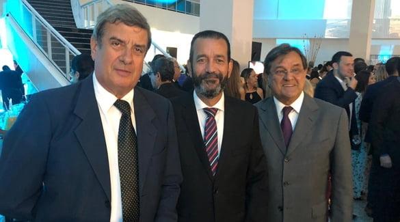 Presidente da ABM participa da inauguração do Centro de Convenções
