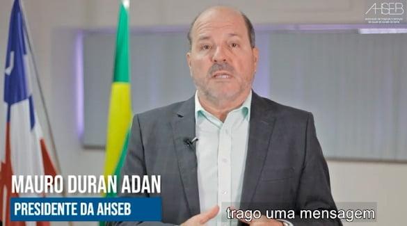 Presidente da AHSEB ressalta a importância do cuidado a saúde nesse momento de pandemia