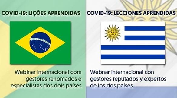 Gestores do Brasil e Uruguai debatem ações contra a COVID-19 nas fronteiras