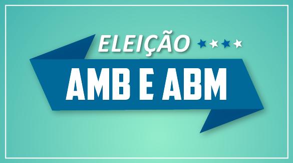 Começa nesta sexta-feira (21) e vai até o dia 31 de agosto, o prazo de votação para eleição da nova Diretoria da ABM e da AMB