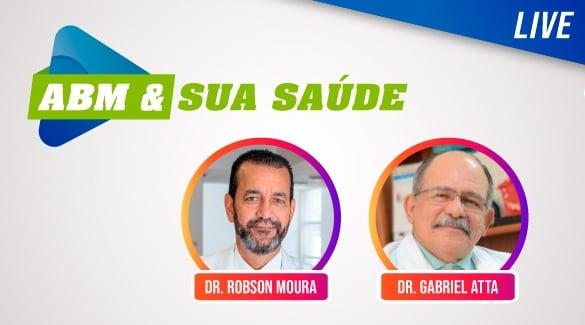 A Live ABM & Sua Saúde será nesta quarta-feira, 16/09, e trará o urologista, Dr. Gabriel Atta. Não perca!
