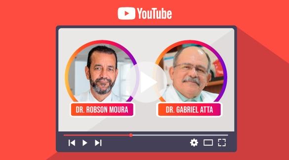 Assista a Live ABM & Sua Saúde com Dr. Gabriel Atta no Youtube da ABM