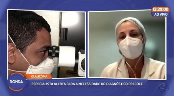 Confira a entrevista da diretora científica da ABM e médica oftalmologista, dra. Claudia Galvão, ao programa Ronda.
