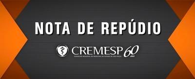 Cremesp repudia a atitude truculenta do Ministro da Saúde, Ricardo Barros