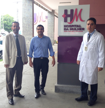 Presidente da ABM visita Hospital da Mulher após um ano de funcionamento