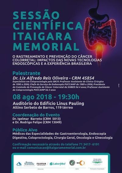 GastroHepato Memorial convida para palestra sobre prevenção do Câncer Colorretal