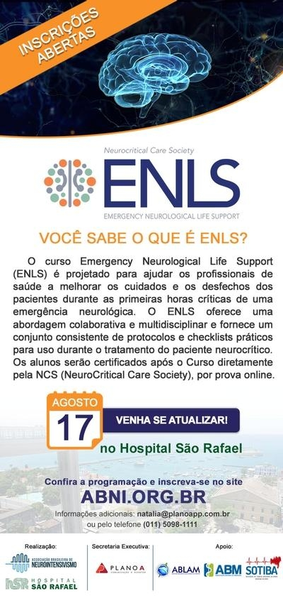 ENLS - Emergency Neurological Life Support