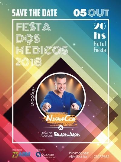 Save the Date - Festa dos Médicos 2018
