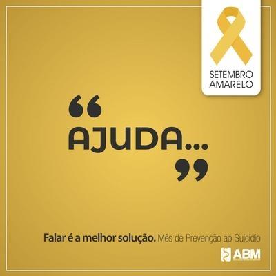 Setembro Amarelo - Mês de prevenção ao suicídio e valorização da vida