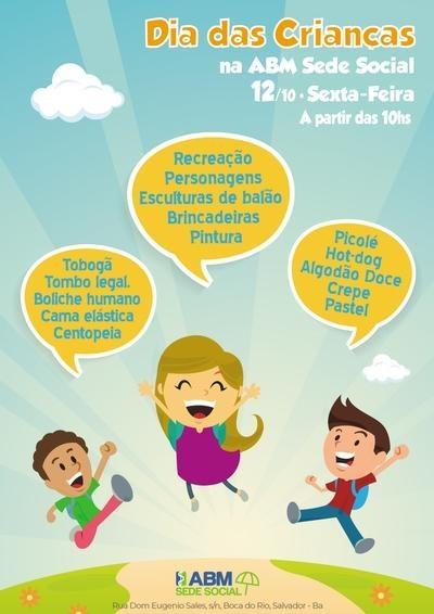 Dia das Crianças na ABM Sede Social