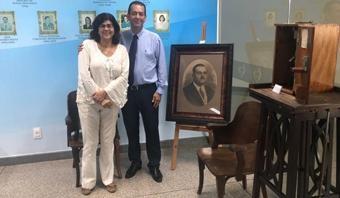 Presidente da ABM visita Instituto Couto Maia