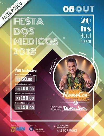 FALTA POUCO!! Festa dos Médicos 2018