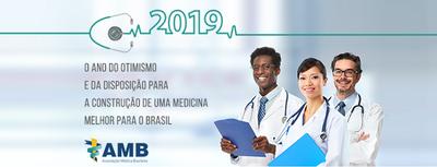 Otimismo e disposição para contribuir para uma medicina de qualidade em 2019