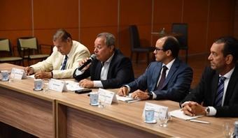 Presidente da ABM ministra palestra no Senai/Cimatec