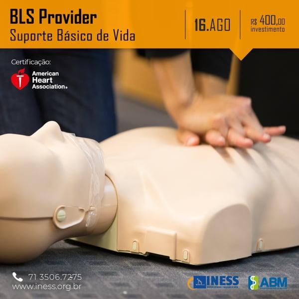 BLS Provider – Suporte Básico de Vida