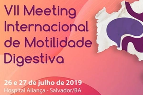 ABM Eventos organiza VII Meeting Internacional de Motilidade Digestiva