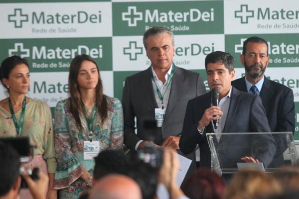 Presidente da ABM participa de lançamento da pedra fundamental para construção do Hospital Mater Dei