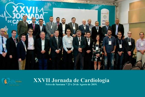 Diretor da ABM participa da XXVII Jornada de Cardiologia Feira de Santana
