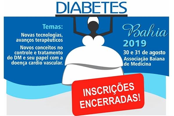 Diabetes Bahia 2019 - Inscrições encerradas